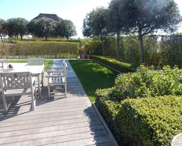 Onderhoudsvriendelijke tuin in Oostende