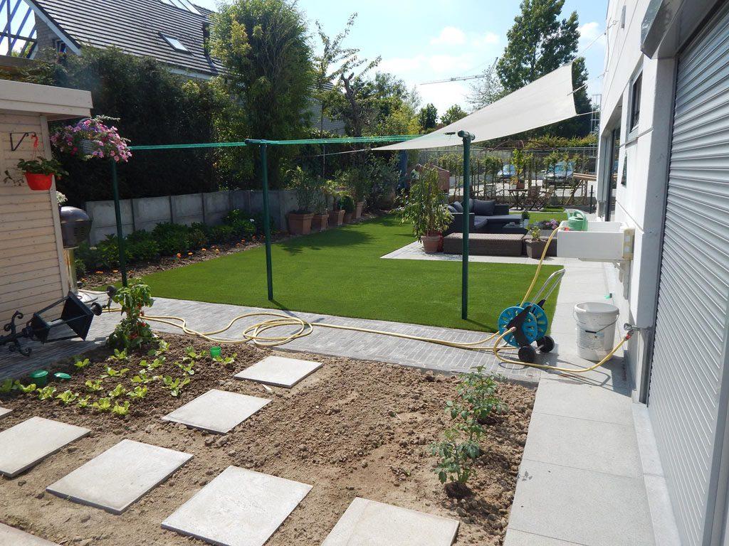 Grote tuin grastapijt